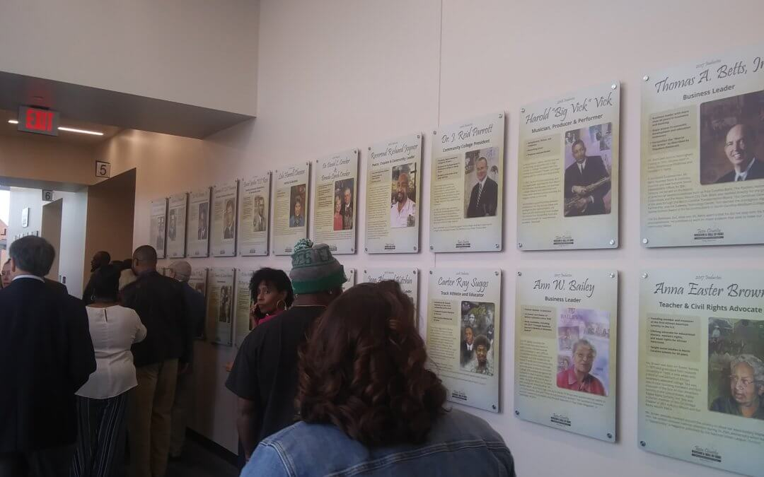 Check Out Our Portraits in the Rocky Mount Event Center