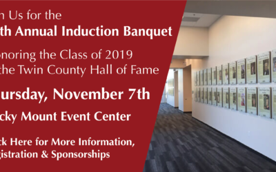 Twin County Hall of Fame 16th Annual Induction Banquet Announced